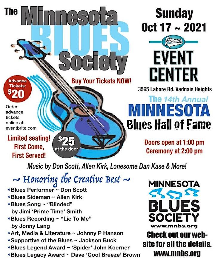 Minnesota Blues Society 2021 Blues Hall of Fame Ceremony image