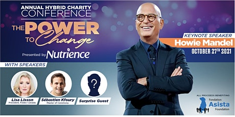 Live   Howie Mandel   The Power to Change Charity Conference   Hybrid tickets