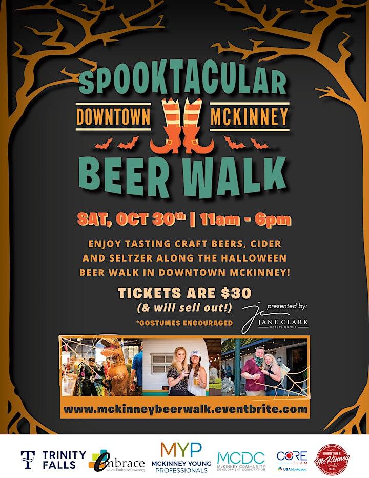 Downtown McKinney Spooktacular Beer Walk image