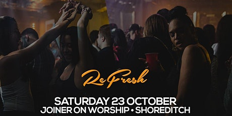 Faded presents Refresh tickets