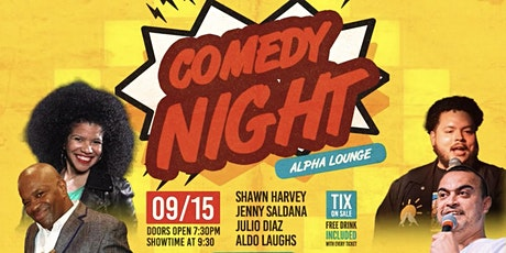 Comedy Night at Alpha Astoria tickets