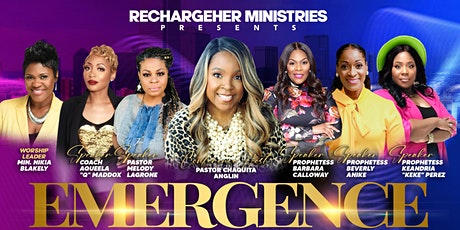 ReChargeHER WOMEN'S CONFERENCE - DALLAS/FRISCO, TEXAS - EMERGENCE tickets