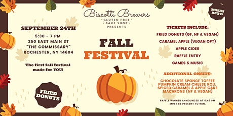 Fall Festival -- Biscotti Brewers tickets
