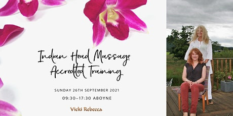 Indian Head Massage Accredited Training tickets