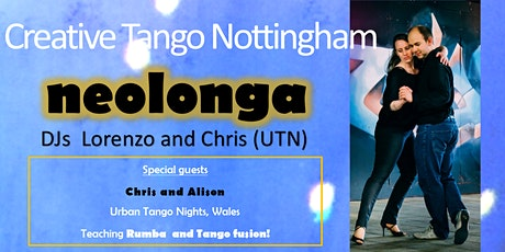 Contemporary Argentine Tango - Lesson and Social Dance billets