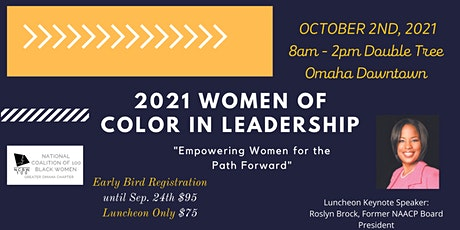 2021 Women of Color in Leadership Conference tickets