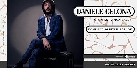 Daniele Celona in concerto biglietti