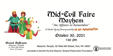Mid-Evil Mystery At The Masonic Temple! tickets