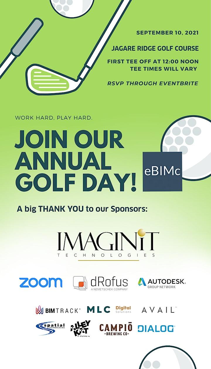 eBIMc (Edmonton BIM Community) Annual Golf Event image