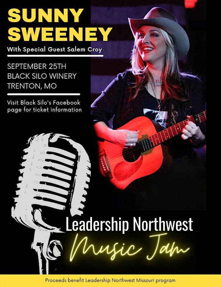 Leadership Northwest Music Jam:  featuring Sunny Sweeney image