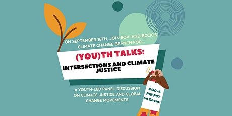 (You)th Talks: Intersections and Climate Justice tickets