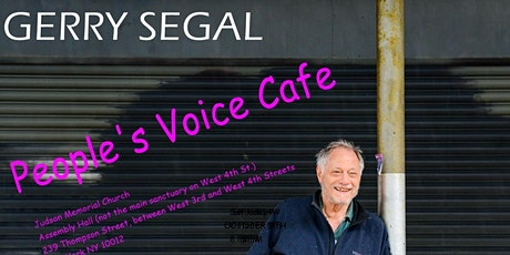 Gerry Segal @ The Peoples' Voice Cafe tickets