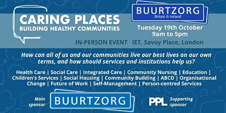 Caring Places: Building Healthy Communities - IN PERSON EVENT tickets
