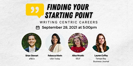 Finding Your Starting Point: Writing Centric Careers tickets