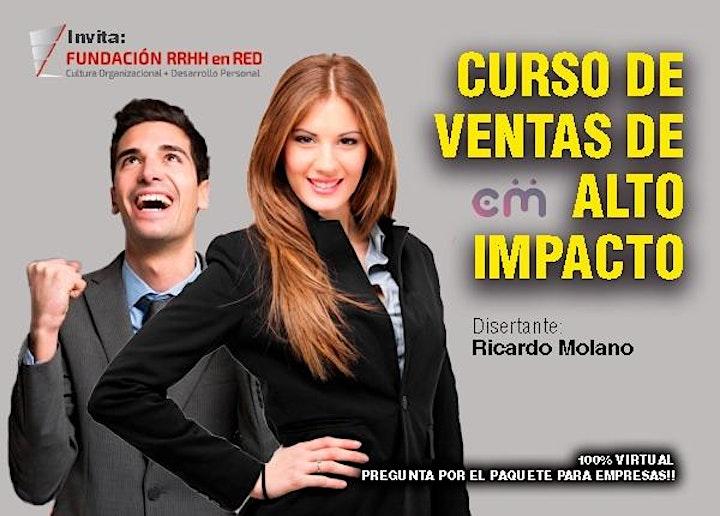 """Imagen de Curso intensivo """"VENTAS DE ALTO IMPACTO"""""""