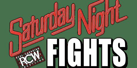 RCW SATURDAY NIGHT FIGHT: CALGARY tickets