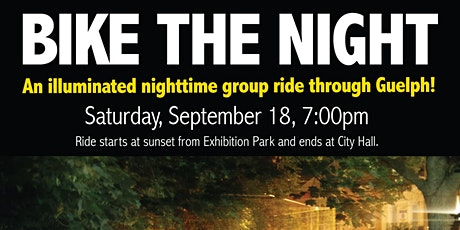 Bike the Night - Guelph tickets