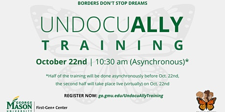 UndocuAlly Training with Asynchronous and Synchronous Components (10/22) tickets