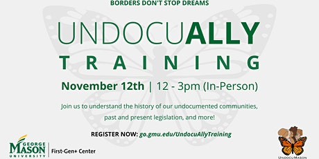 UndocuAlly Training (In Person, 11/12) tickets