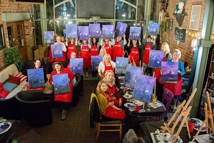 Winter Lights Brush Party - Gloucester image