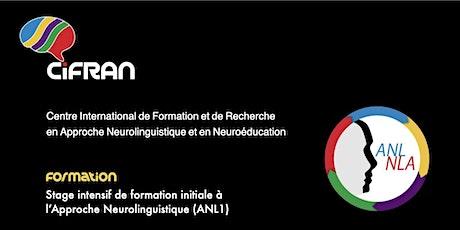 ANL1- Québec - Stage de formation initiale à l'Approche Neurolinguistique billets