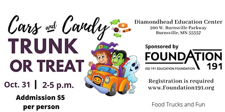 Foundation 191's Trunk or Treat tickets
