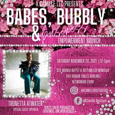 Babes Bubbly & Business Empowerment Brunch tickets