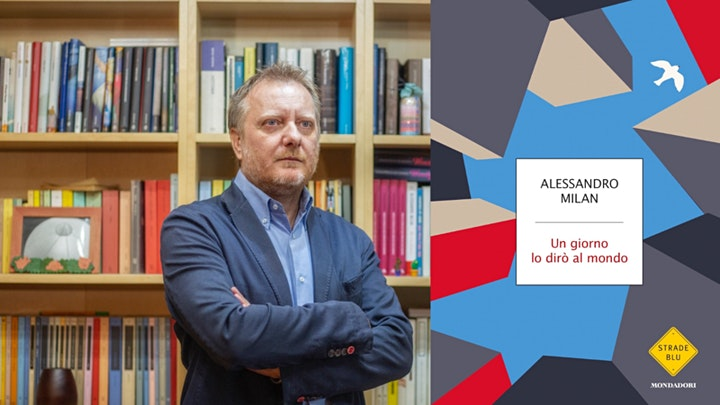"""Immagine Alessandro Milan presenta """"Un giorno lo dirò al mondo""""  - Equilibri... 2021"""