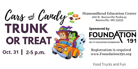 ISD 191 School/ Group  Registration: Foundation 191's Trunk or Treat tickets
