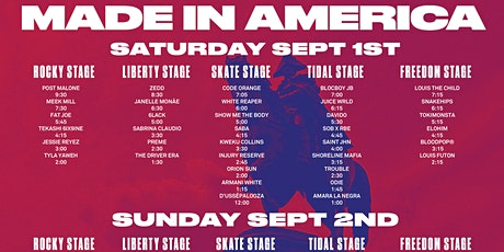 ONLINE-StrEams@!.2021 Made In America Festival LIVE ON fReE 2021 tickets