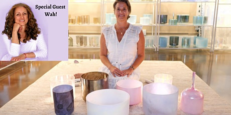 Introduction to Crystal Bowls - with special guest, Wah!  (Online Workshop) tickets