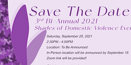 Shades of Domestic Violence tickets