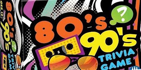 80s & 90s Trivia Night tickets