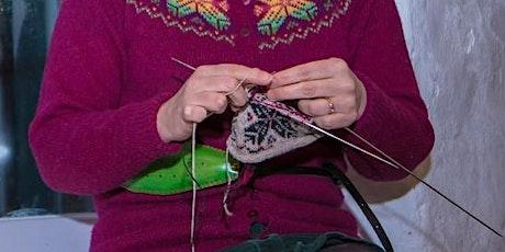 Learn to use a Shetland Knitting Belt  with Janette   Shetland Wool Week tickets