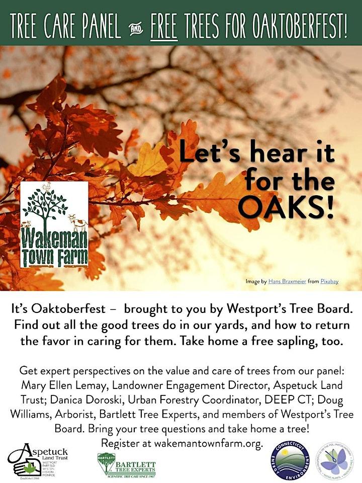 Oaktoberfest Tree Care Panel image