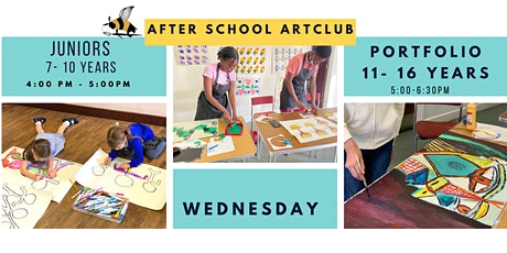 Afterschool Art club Juniors 4-7 years old 4-5 pm tickets