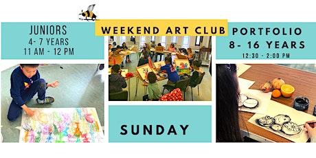 Weekend Portfolio Art Class 8-16 Years tickets