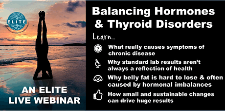 Balancing Hormones and Thyroid Disorders tickets
