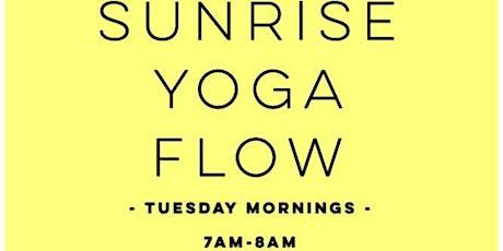 Sunrise Yoga Flow-East Bay Park! tickets