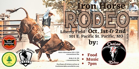 Pacific Iron Horse Rodeo 2021 tickets