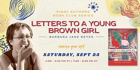 Filipina Authors Book Club: Letters to a Young Brown Girl tickets