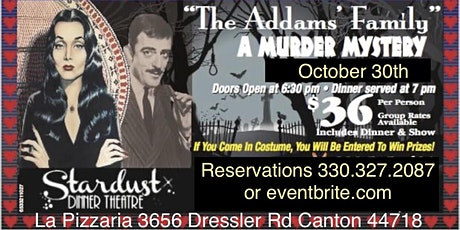 The Addams Family  Murder Mystery Tribute Show tickets