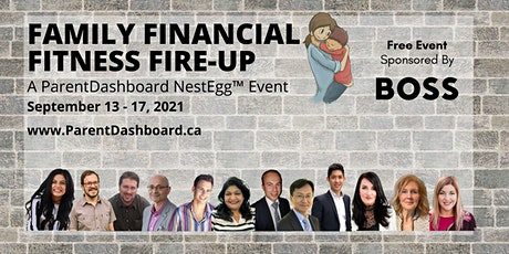 ParentDashboard NestEgg™ Challenge: Family Financial Fitness Fire-Up tickets