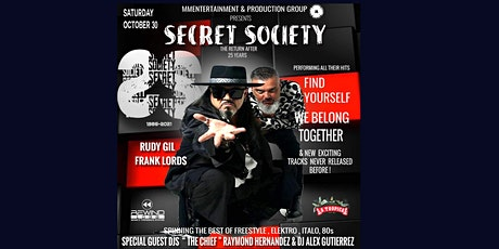 A NIGHT IN HAVANA WITH SECRET SOCIETY (Halloween Party) tickets