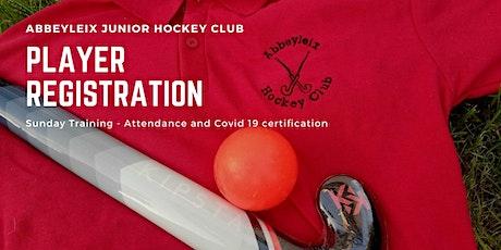 Abbeyleix Hockey Club - Sunday Registration. tickets