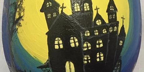 Paint & Pints - Haunted House tickets