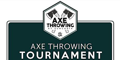 Suncadia Axe Throwing Tournament tickets