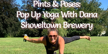 Pints and Poses: Pop Up Yoga at Shovel Town Brewery tickets