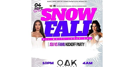 Oak Saturday Night All White Party tickets