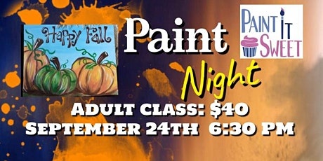 Pumpkin Paint Night tickets